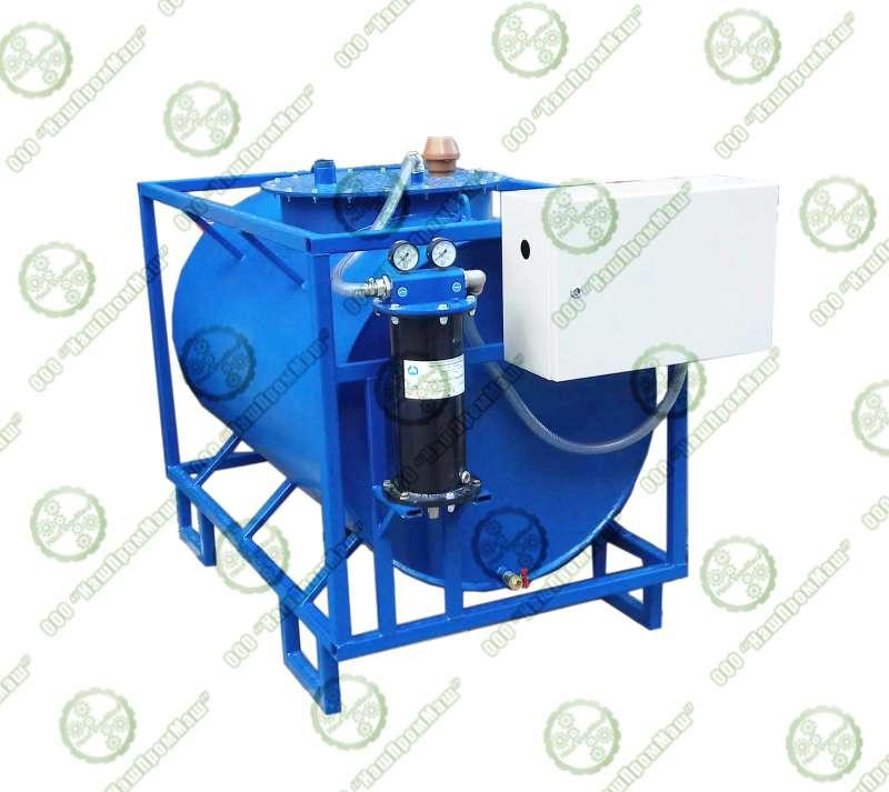 Мобильный топливный резервуар сфильтр-сепаратором итопливораздаточной колонкой